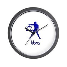 Unique Pagan blue moon Wall Clock