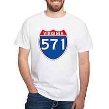 Area Code 571 Shirt