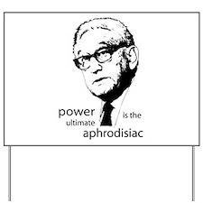 Kissinger gear - Yard Sign