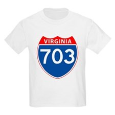 Area Code 703 T-Shirt
