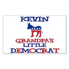 Kevin - Grandpa's Little Demo Sticker (Rectangular