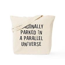 Diagonally Parked Tote Bag