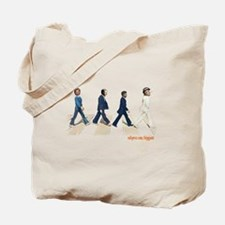 Hillary,Bill,JFK,FDR on Abbey Tote Bag