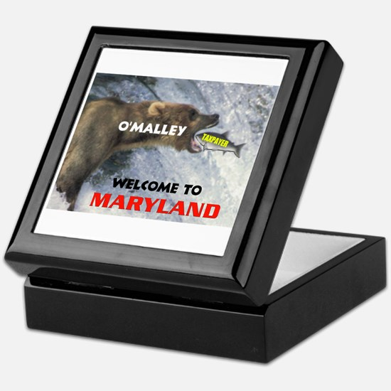 O'MALLEY'S TAXES Keepsake Box