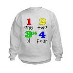 Numbers for Smart Babies Kids Sweatshirt