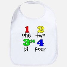 Numbers for Smart Babies Bib