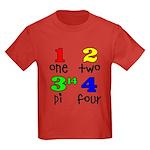 Numbers for Smart Babies Kids Dark T-Shirt