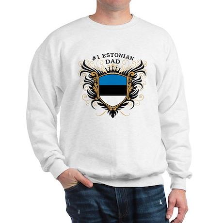 Number One Estonian Dad Sweatshirt