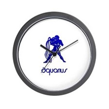 Funny Pagan blue moon Wall Clock