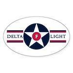 81st SPS Delta Flight Oval Sticker