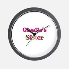 Giselle's Sister Wall Clock