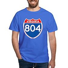 Area Code 804 T-Shirt