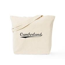 Vintage Cumberland (Black) Tote Bag