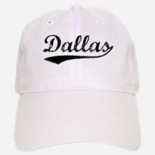 Vintage Dallas (Black) Baseball Baseball Cap