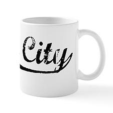 Vintage Daly City (Black) Mug