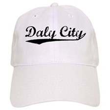 Vintage Daly City (Black) Baseball Cap