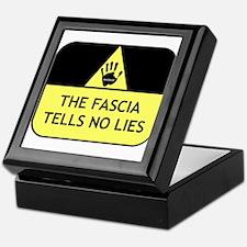 The fascia tells no lies Keepsake Box
