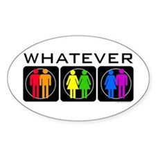 Rainbow Whatever Decal