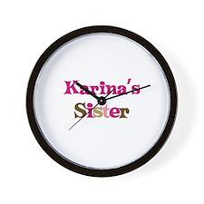 Karina's Sister Wall Clock