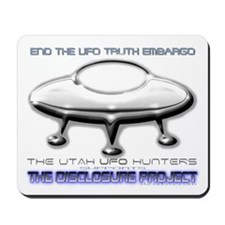 UUFOH Supports UFO Disclosure Project Mousepad