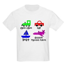 Transportation for Smart Babies Kids Light T-Shirt