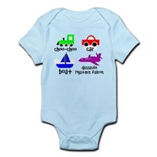 Transportation for Smart Babies Infant Bodysuit