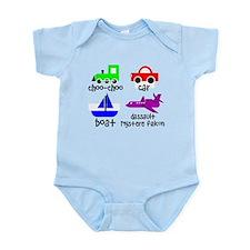 Transportation for Smart Babies Infant Bodysuit
