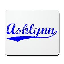 Vintage Ashlynn (Blue) Mousepad
