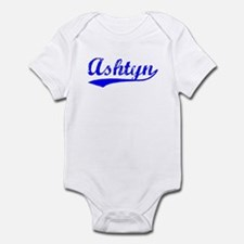 Vintage Ashtyn (Blue) Infant Bodysuit