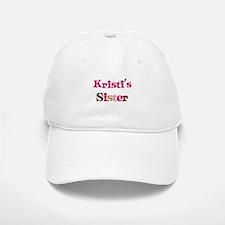 Kristi's Sister Baseball Baseball Cap