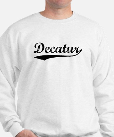 Vintage Decatur (Black) Sweatshirt