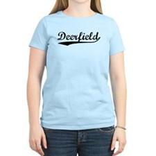 Vintage Deerfield (Black) T-Shirt