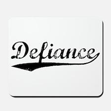 Vintage Defiance (Black) Mousepad