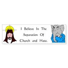 Separation Bumper Car Sticker