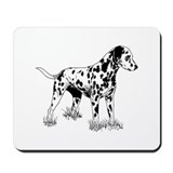 Dalmation Mouse Pads
