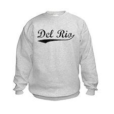 Vintage Del Rio (Black) Sweatshirt