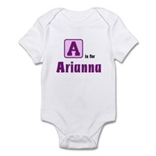 (any letter) is for (any name Infant Bodysuit