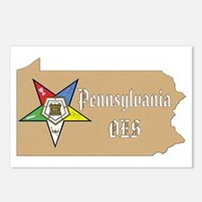 Pennsylvania OES Postcards (Package of 8)