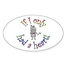 Tin Man Oval Decal
