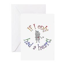 Tin Man Greeting Cards (Pk of 10)