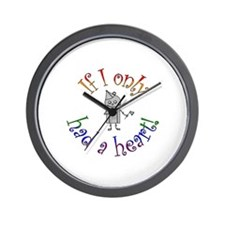 Tin Man Wall Clock