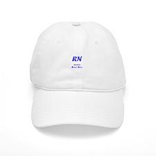 Blue RN Baseball Cap