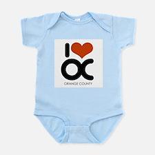 I Love Orange County ~  Infant Creeper
