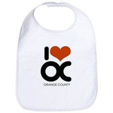 I Love Orange County ~  Bib