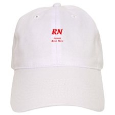 Red RN Baseball Cap