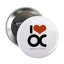 I Love Orange County ~ Button