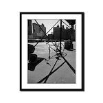 Black & White Prints Framed Panel Print