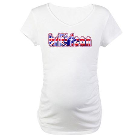 BritiRican Maternity T-Shirt