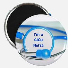 """Number 1 Nurse 2.25"""" Magnet (100 pack)"""