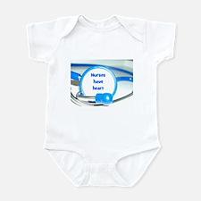 Nurses Have Heart Infant Bodysuit